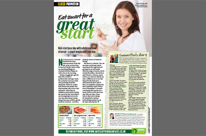 Eat Smart Great Start Closer Magazine